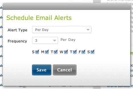 Email Brand Alerts